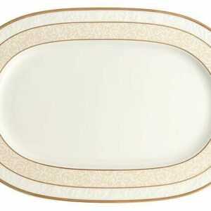 Villeroy & Boch Platte 35 cm oval Ivoire