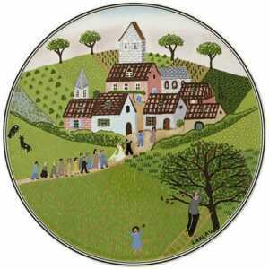 Villeroy & Boch Tortenplatte 30 cm rund Charm&Breakfast Design Naif