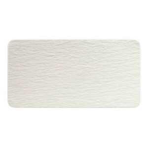 Villeroy & Boch Servierplatte 35 cm Manufacture Rock blanc