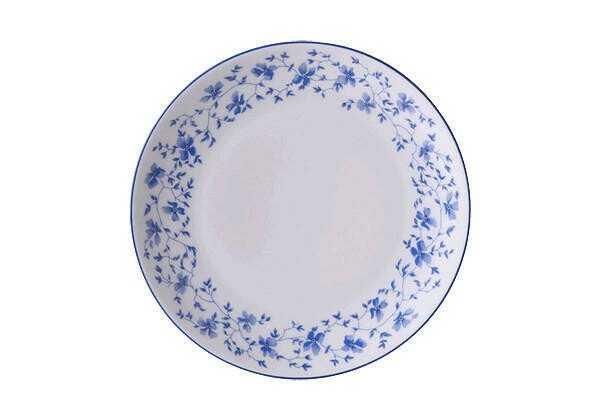 Arzberg Brotteller 17 cm Form 1382 Blaublüten