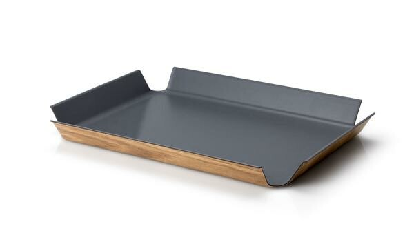 Continenta Tablett rutschfest 55x40 cm grau
