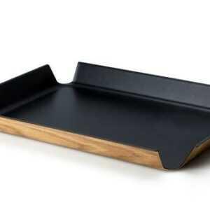 Continenta Tablett rutschfest 55x40 cm schwarz