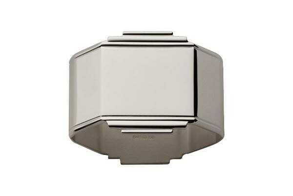 Robbe & Berking Serviettenring Art Deco 925 Sterlingsilber poliert