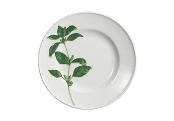 Dibbern Frühstücksteller 19 cm Herbaticum Basilikum