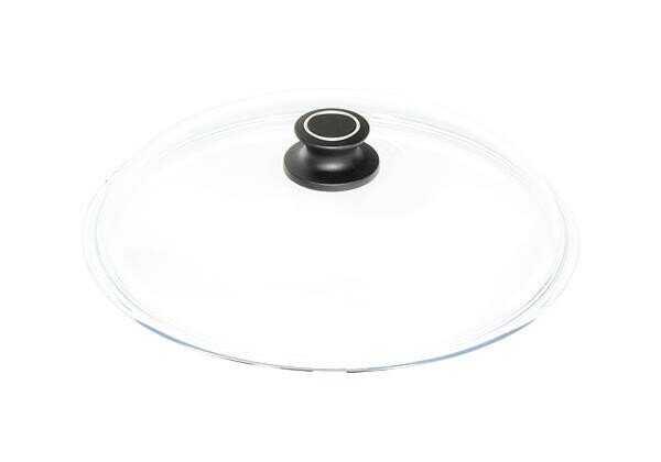 AMT Gastroguss Glasdeckel 32cm rund mit Deckelknopf