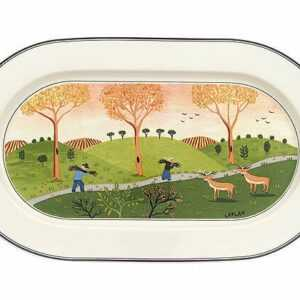 Villeroy & Boch Platte 34 cm oval Design Naif