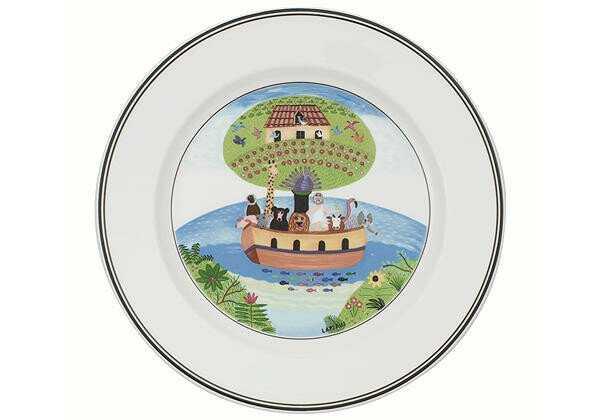 Villeroy & Boch Frühstücksteller 21cm Arche Noah Design Naif
