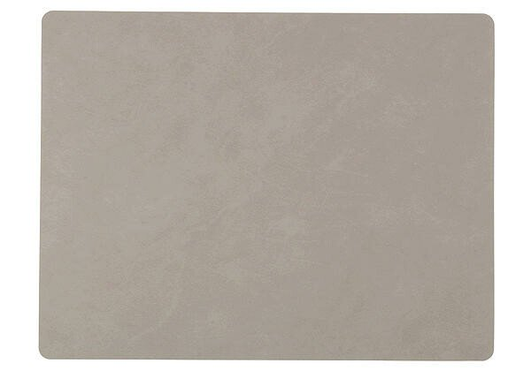 LINDDNA Tischset 35x45 cm rechteckig L Nupo Hellgrau