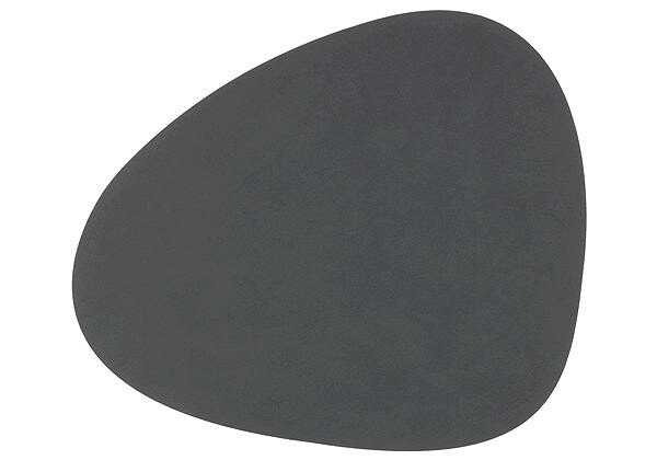 LINDDNA Tischset 37x44 cm abgerundet L Nupo Anthrazit