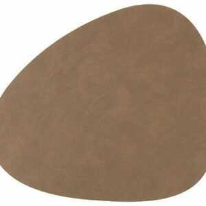 LINDDNA Tischset 37x44 cm abgerundet L Nupo Braun