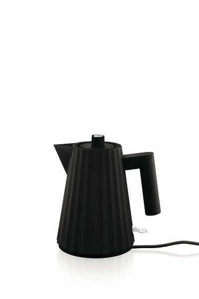 Alessi Wasserkocher 1 l Plissé schwarz