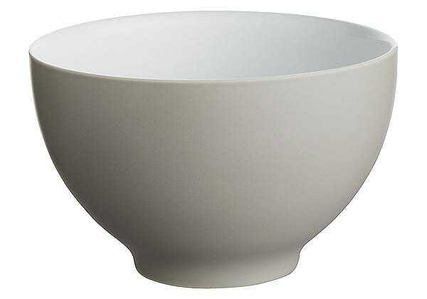 Alessi Schale 18 cm Tonale light grey