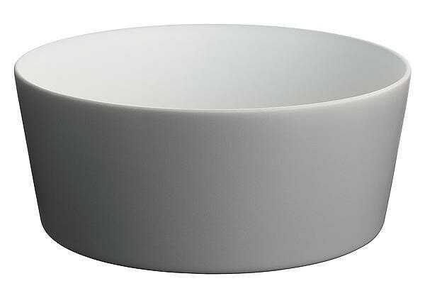 Alessi Salatschüssel 23 cm Tonale dark grey