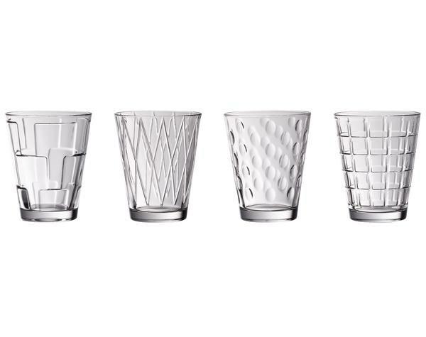 Villeroy & Boch Wasserglas-Set 4-tlg. Dressed Up Clear