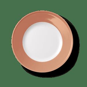 Dibbern Teller flach 26 cm Solid Color blush
