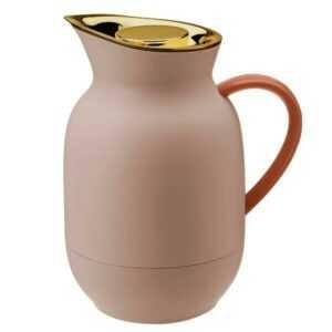 Stelton Isolierkanne 1l Amphora Kaffee soft peach